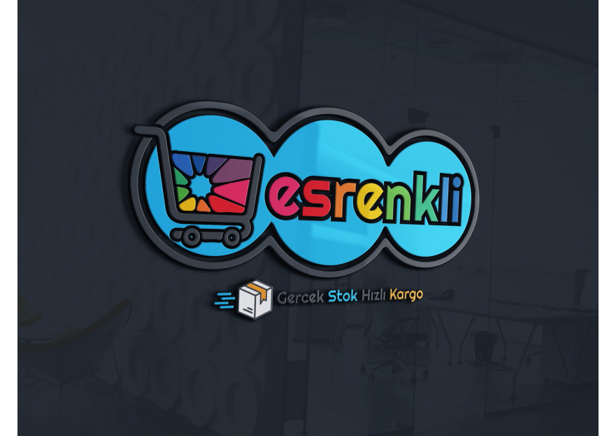 online mağazamıza özgü logo tasarımı  yarışmasına tasarımcı LogoMerkezi tarafından sunulan  tasarım