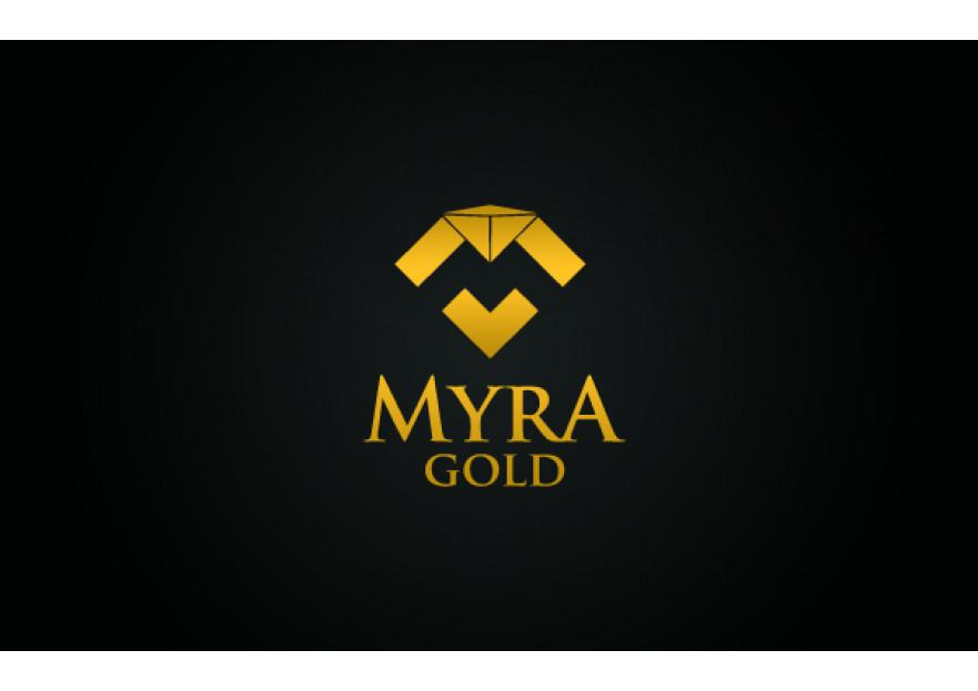 Myra Gold Kurumsal Kimlik Logosu yarışmasına tasarımcı zarifbalci tarafından sunulan  tasarım