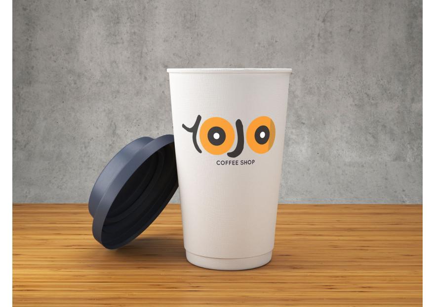 Kahveci Logosu yarışmasına tasarımcı ioguler tarafından sunulan  tasarım
