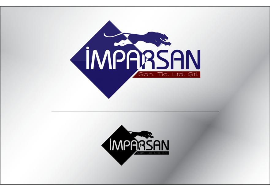 İMPARSAN SAN. TİC. LTD. Logo tasarımı yarışmasına tasarımcı proea tarafından sunulan  tasarım