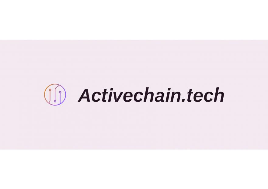 ActiveChain.tech Logo Yarismasi yarışmasına tasarımcı allicanck tarafından sunulan  tasarım