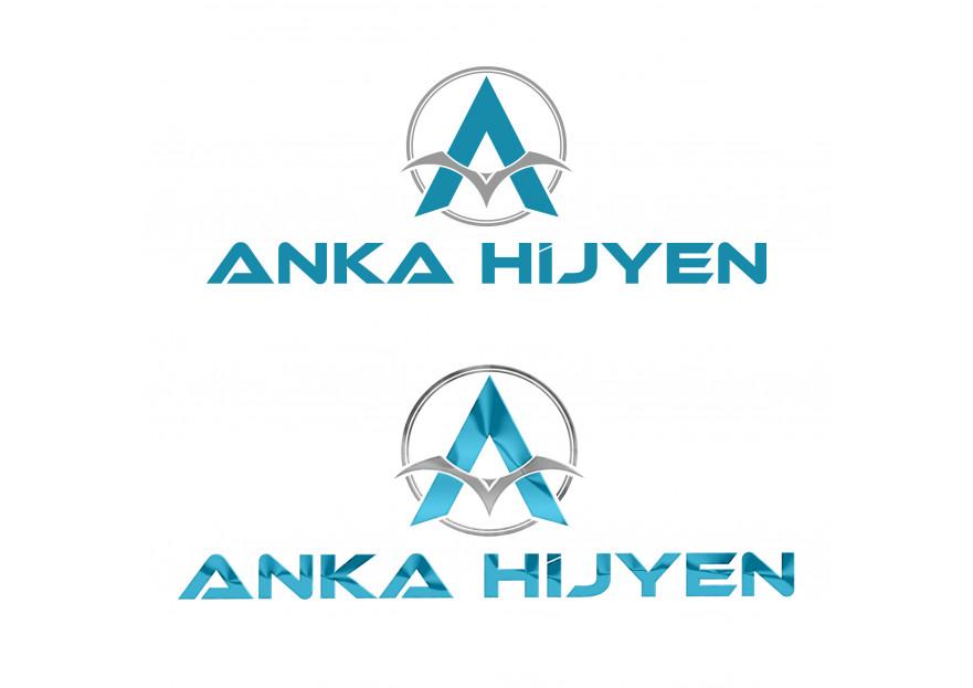 Anka Hijyen Firmamız İçin Logo İhtiyacı yarışmasına tasarımcı By Sönmez tarafından sunulan  tasarım