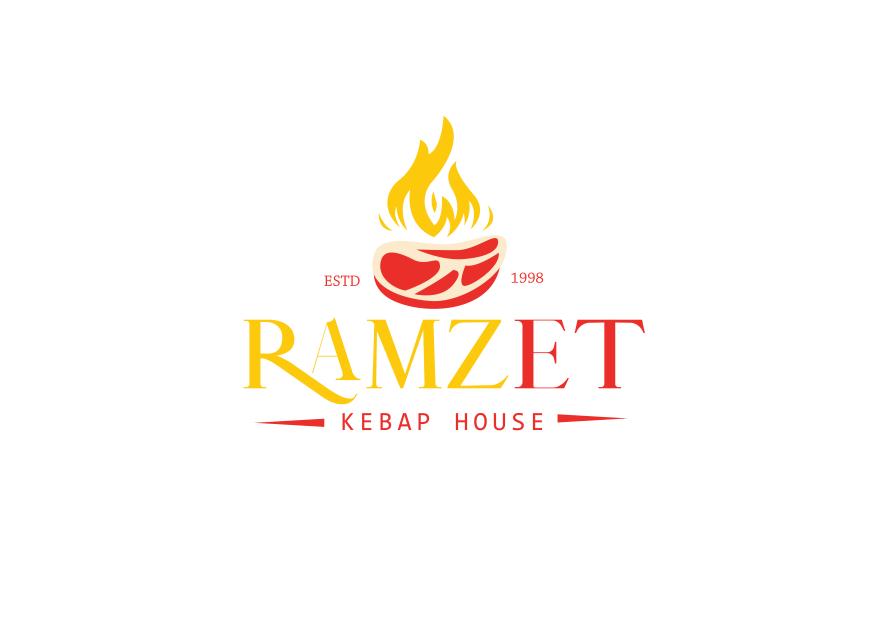 Kebap Salonu İçin Logo Tasarımı yarışmasına Kalzeno tarafından girilen tasarım