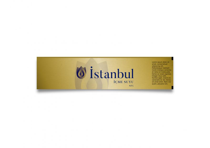 ''İstanbul İçme Suyu'' logosu yarışmasına tasarımcı XXX999 tarafından sunulan  tasarım