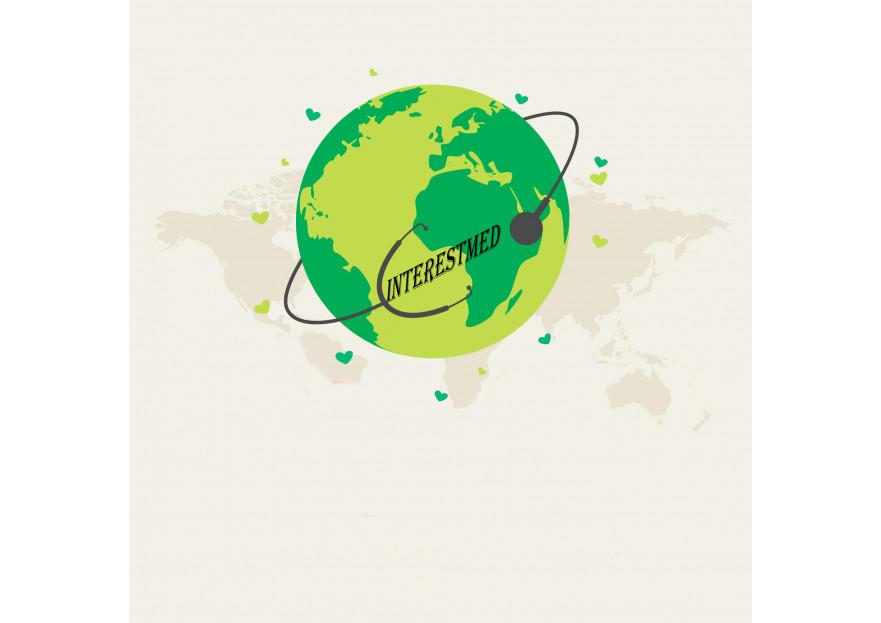 Uluslarasi saglik turizmi icin logo yarışmasına tasarımcı uğur genç tarafından sunulan  tasarım