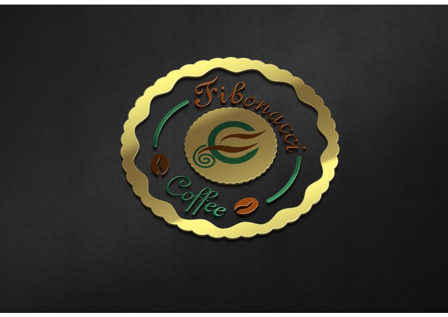 FibonacciCoffee logosunu arıyor yarışmasına grafikseli tarafından girilen tasarım
