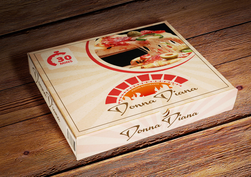 pizza restoranim icin logo tasarimi yarışmasına tasarımcı mrdgsn tarafından sunulan  tasarım
