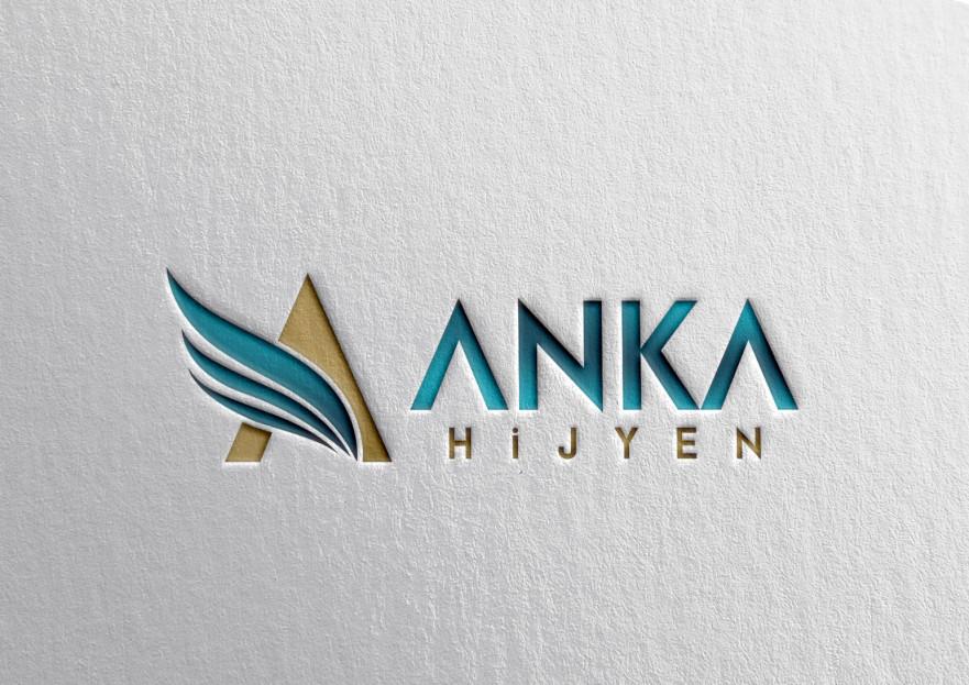 Anka Hijyen Firmamız İçin Logo İhtiyacı yarışmasına tasarımcı huboz tarafından sunulan  tasarım
