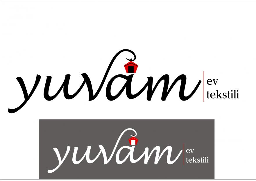 Ev Tekstili  Logo Tasarımı yarışmasına tasarımcı fundac tarafından sunulan  tasarım