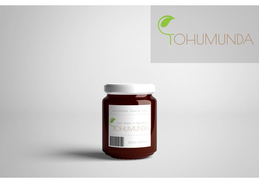 Taze ve Doğal Gıdalarımız için Logo yarışmasına tasarımcı A.yustas tarafından sunulan  tasarım