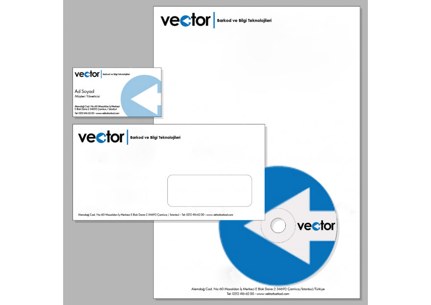 VECTOR ADINA LOGO & KURUMSAL KIMLIK yarışmasına saboon tarafından girilen tasarım