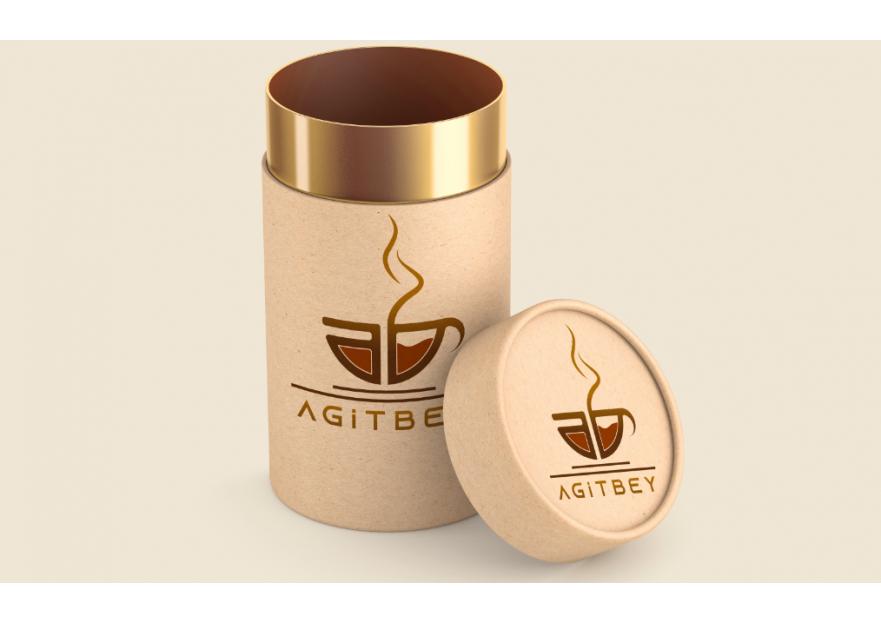 Kahve Firmamız İçin Kurumsal Logo yarışmasına tasarımcı Designetry tarafından sunulan  tasarım