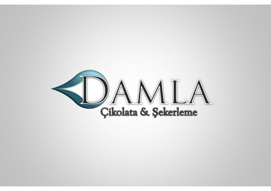 DAMLA Çikolata ve Şekerleme logo tasarım yarışmasına tasarımcı Neco tarafından sunulan  tasarım