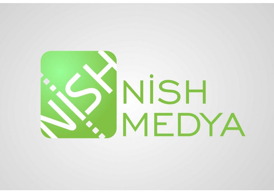 NİSH MEDYA LOGO YARIŞMASI yarışmasına anafor tarafından girilen tasarım
