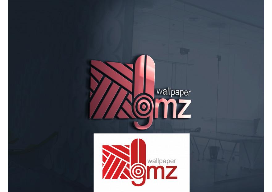 Duvar kağıdı fabrikamız için logo tasarı yarışmasına aysedesign tarafından girilen tasarım