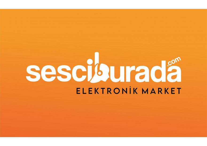 Sesciburada E-Ticaret sistemiz için logo yarışmasına tasarımcı Bi'grafik tarafından sunulan  tasarım