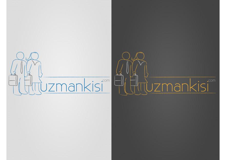 Uzman arama portalı için logo çalışması yarışmasına tasarımcı onderesetekin tarafından sunulan  tasarım