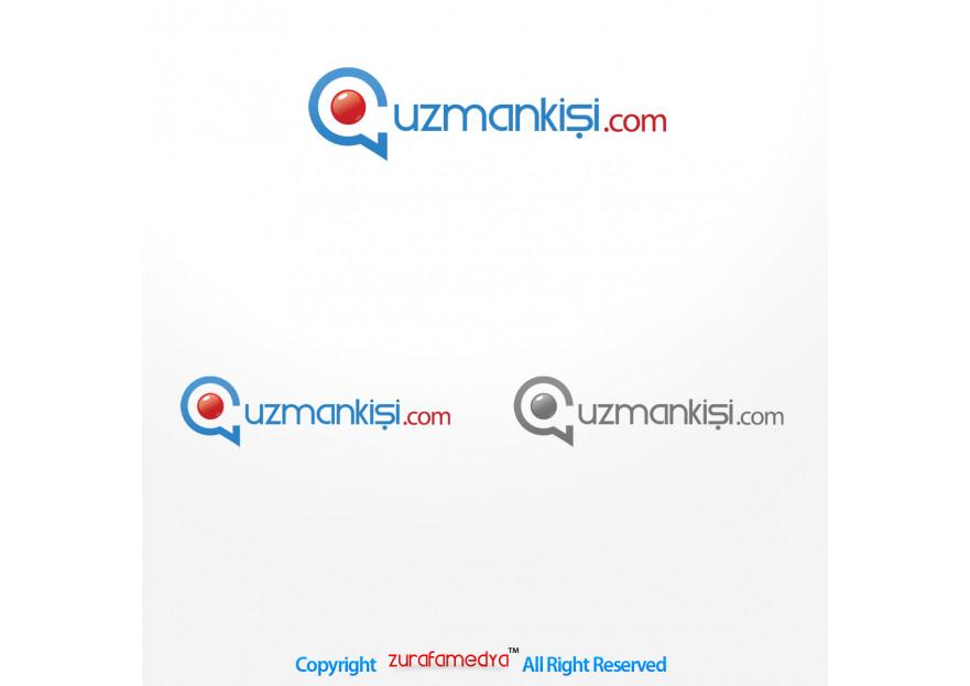 Uzman arama portalı için logo çalışması yarışmasına tasarımcı CrazyLord tarafından sunulan  tasarım