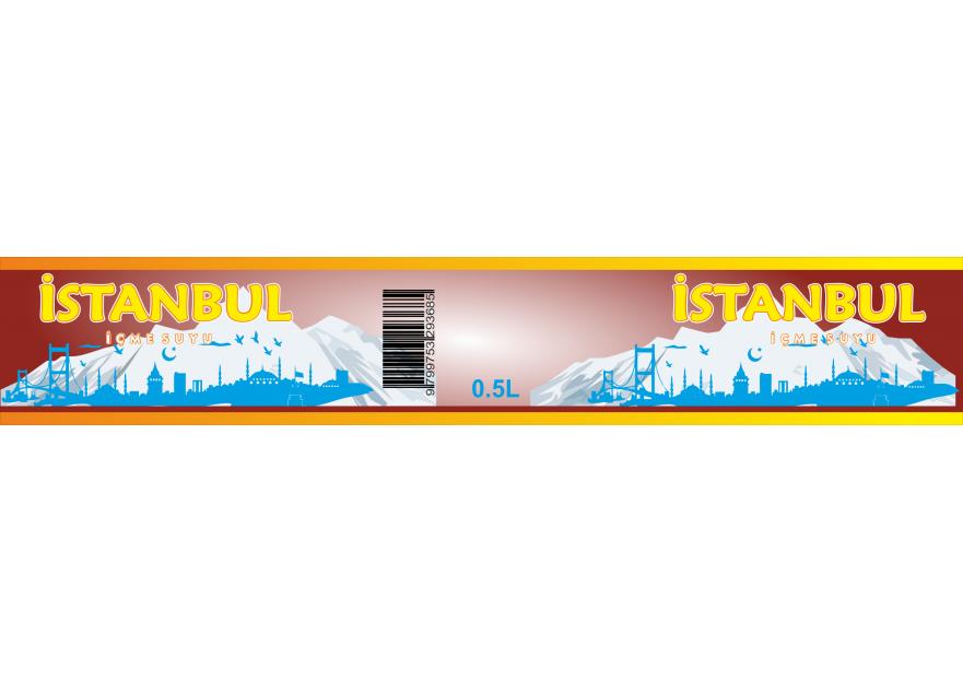 ''İstanbul İçme Suyu'' logosu yarışmasına tasarımcı MS TASARIM tarafından sunulan  tasarım