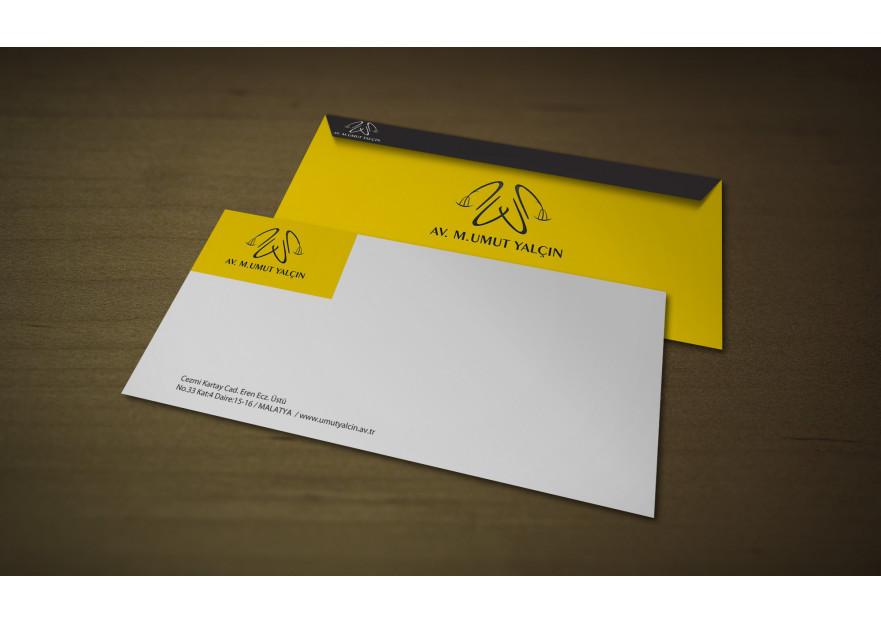 Avukatlık Bürosu Kurumsal Kimlik  yarışmasına tasarımcı muellif tarafından sunulan  tasarım