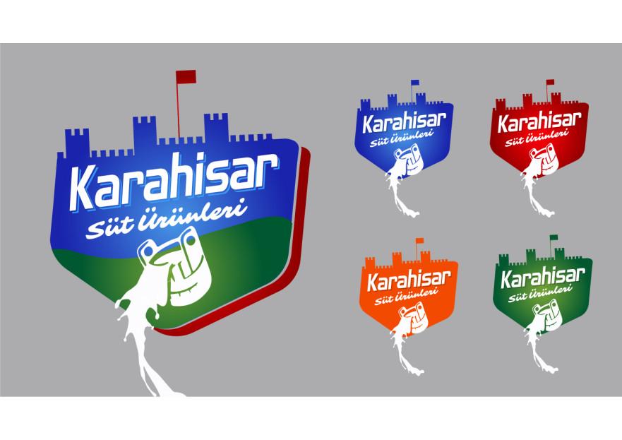 KARAHİSAR SÜT yarışmasına tasarımcı graffikman tarafından sunulan  tasarım
