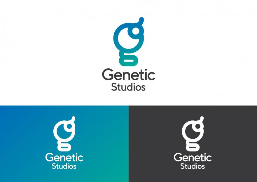 Oyun Firması İçin Logo Tasarımı yarışmasına tasarımcı pandakilla tarafından sunulan  tasarım