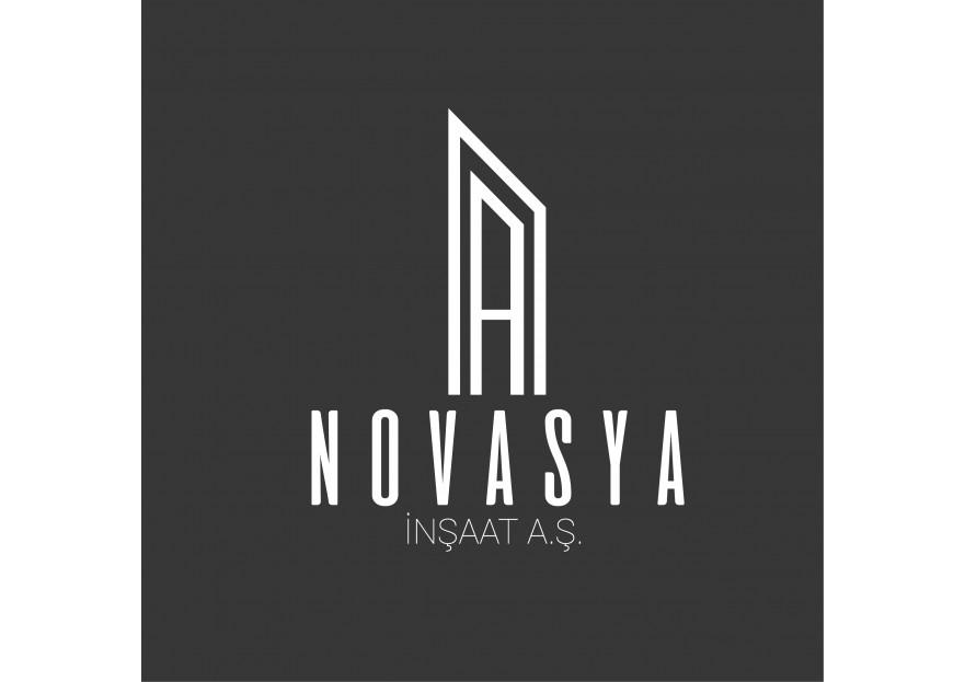 'NOVASYA İNŞAAT A.Ş' EN İYİ OLAN GELSİN! yarışmasına tasarımcı grafikir tarafından sunulan  tasarım