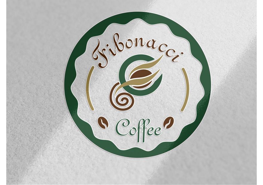 FibonacciCoffee logosunu arıyor yarışmasına tasarımcı grafikseli tarafından sunulan  tasarım