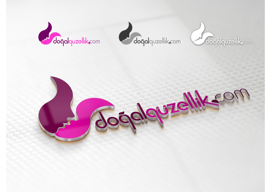 Doğalgüzellik.com alışveriş site logosu yarışmasına tasarımcı ESER tarafından sunulan  tasarım