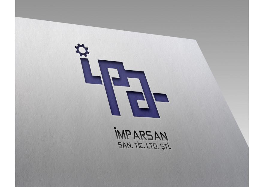 İMPARSAN SAN. TİC. LTD. Logo tasarımı yarışmasına CBDesign tarafından girilen tasarım