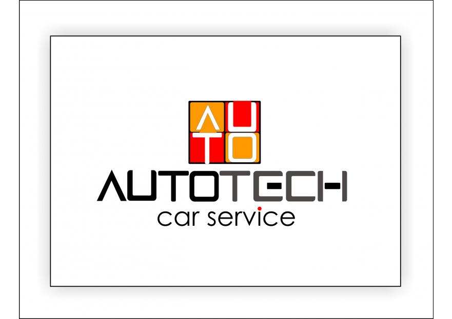 AUTOTECH CAR SERVICE Logo Tasarimi yarışmasına tasarımcı melih tarafından sunulan  tasarım
