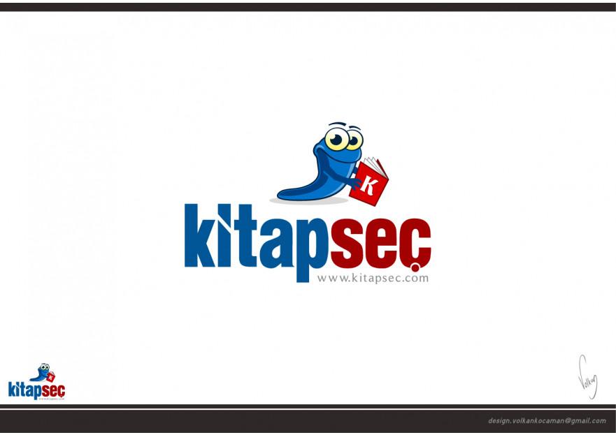 Kitap Satış Sitesine Logo yarışmasına volkanKocaman tarafından girilen tasarım