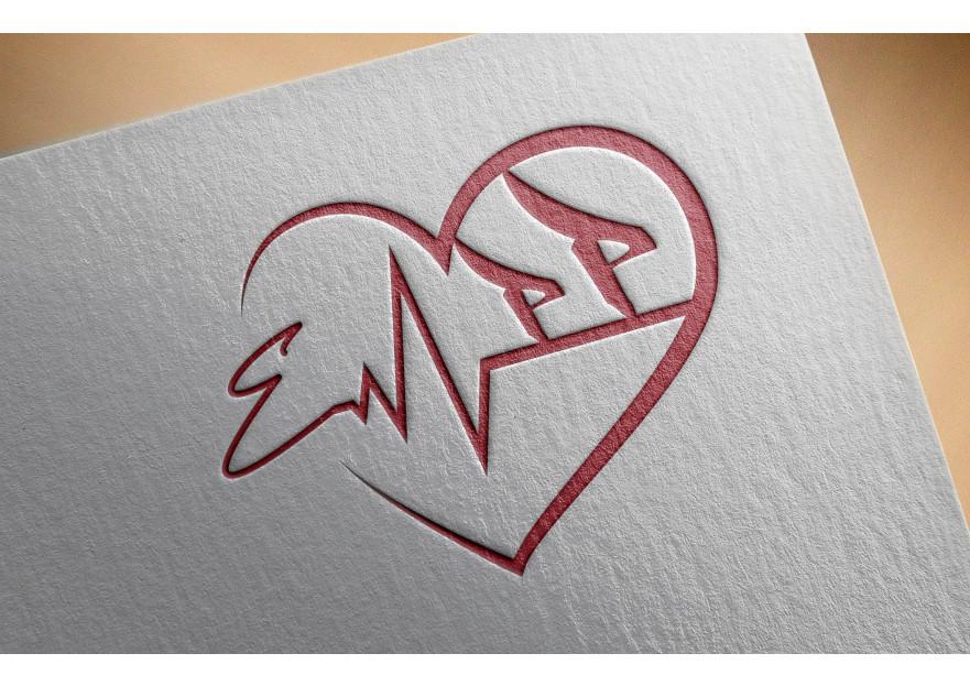 Eşimle benim harflerimden logo yarışmasına tasarımcı Thomas Bewick tarafından sunulan  tasarım