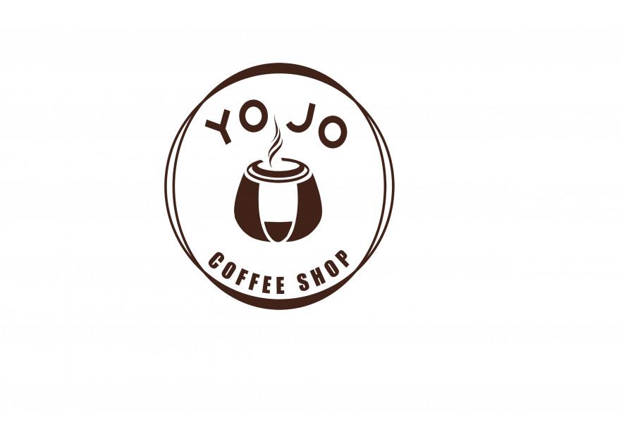 Kahveci Logosu yarışmasına tasarımcı Green Cat tarafından sunulan  tasarım