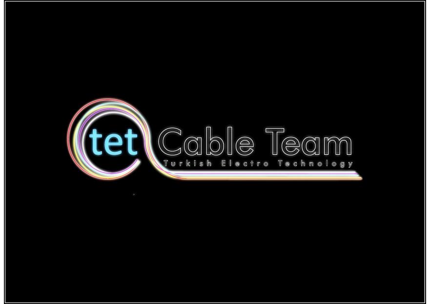 Türk Kablo Sektörü Logosunu Arıyor yarışmasına st52 tarafından girilen tasarım