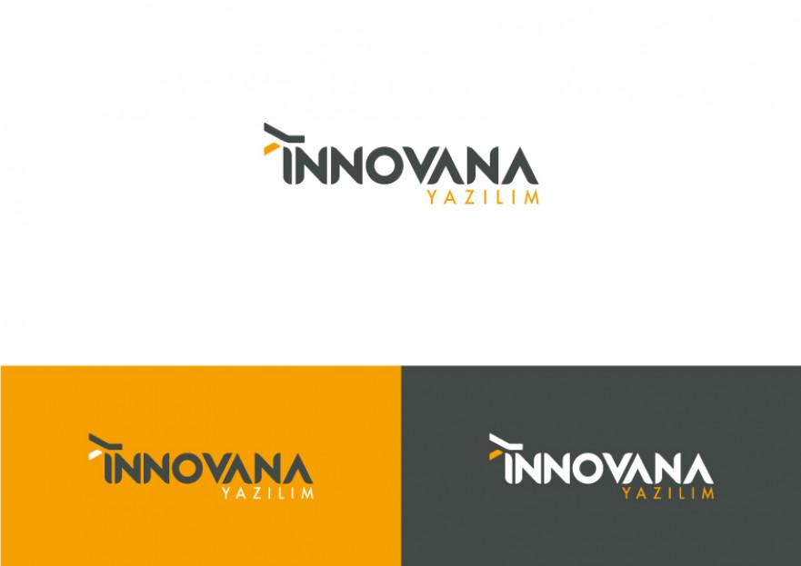 İNNOVANA YAZILIM İÇİN LOGO VE TASARIM yarışmasına dcreagraph design tarafından girilen tasarım