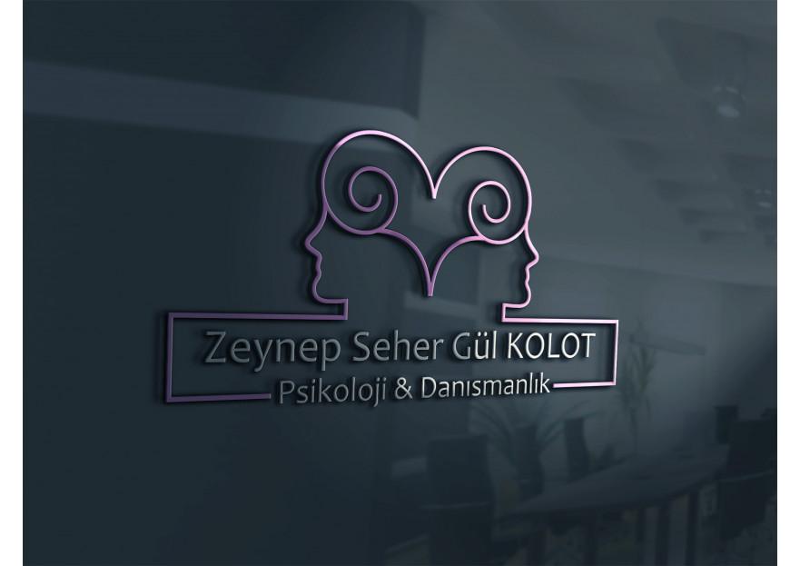 Psikoloji kliniği logo tasarımı yarışmasına tasarımcı kuzfe35 tarafından sunulan  tasarım