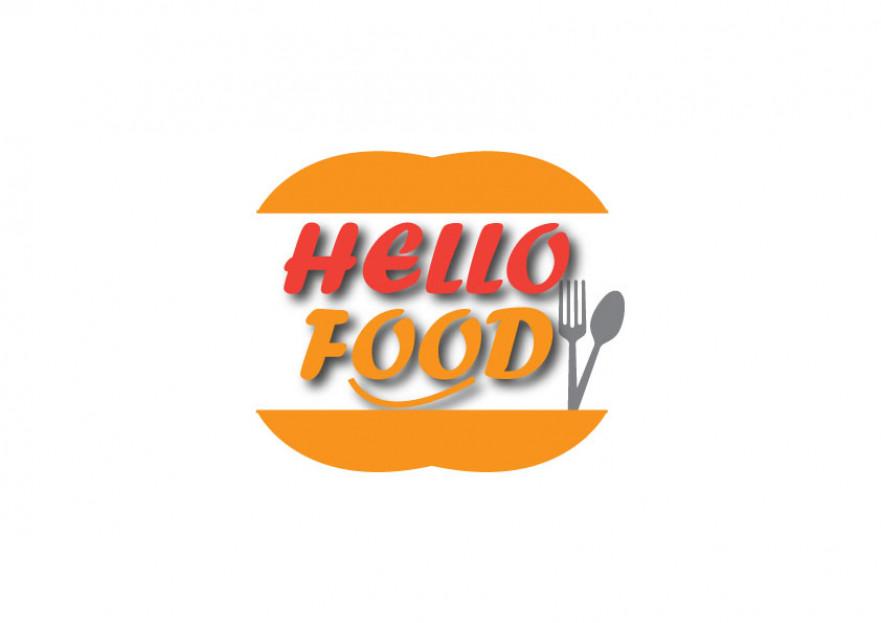 Hello Food uygulamasına logo yarışmasına tasarımcı Ayşen01 tarafından sunulan  tasarım