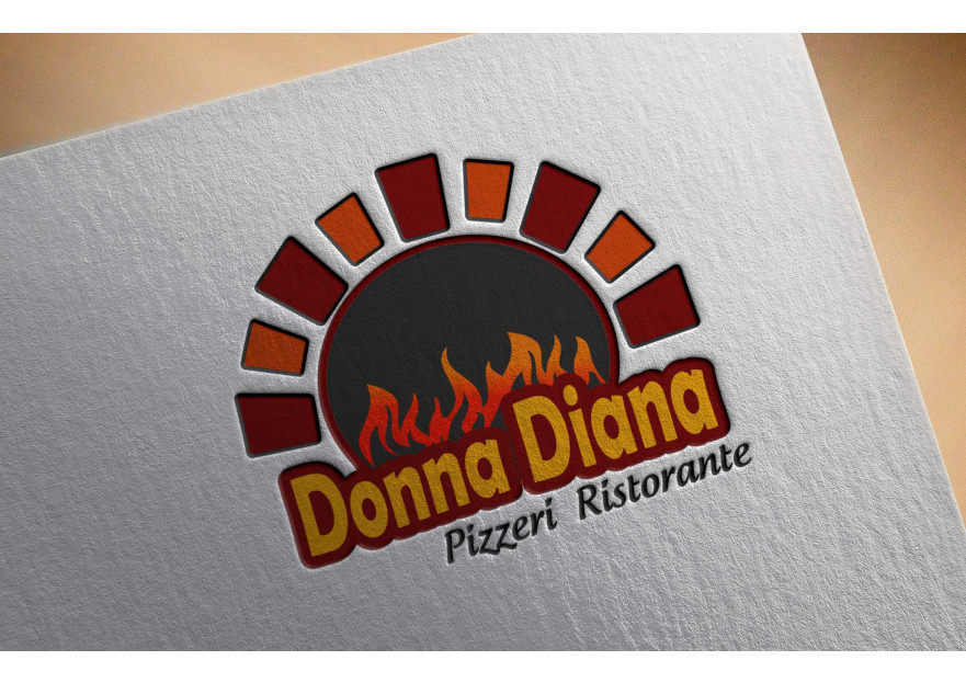 pizza restoranim icin logo tasarimi yarışmasına pasha17 tarafından girilen tasarım