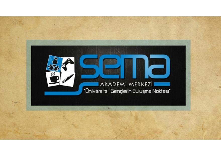 SEMA AKADEMİ MERKEZİ İlk Logomuz Olacak. yarışmasına tasarımcı aliyldsr tarafından sunulan  tasarım