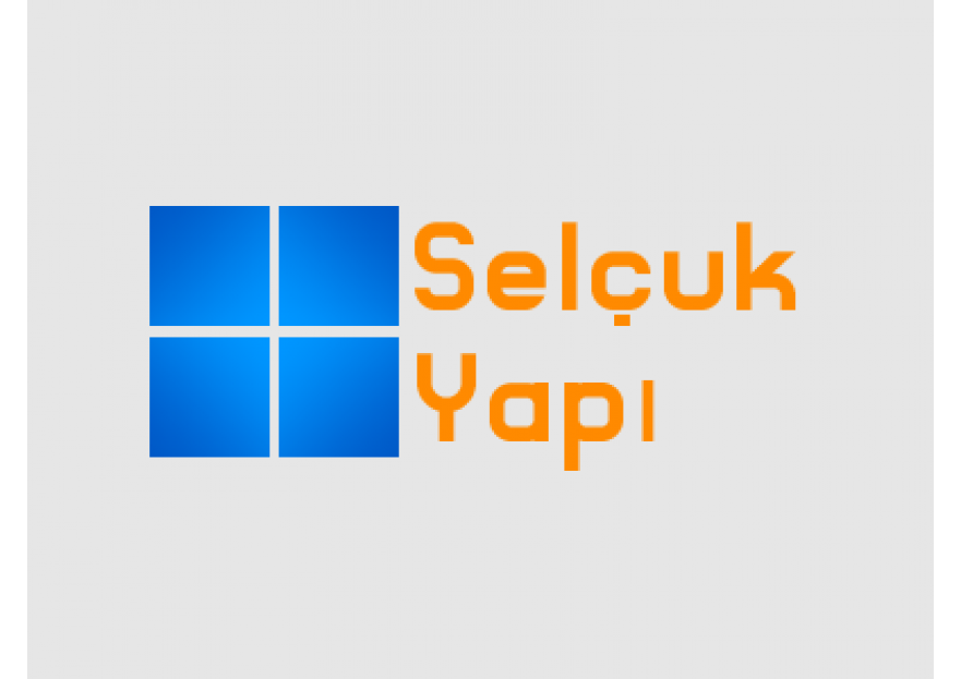 SELÇUK Yapı Logo Tasarımı yarışmasına tasarımcı NeverMind tarafından sunulan  tasarım