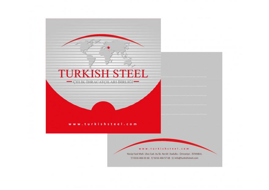 Çelik ihracatçıları birliği kurumsal  yarışmasına tasarımcı yaydin tarafından sunulan  tasarım