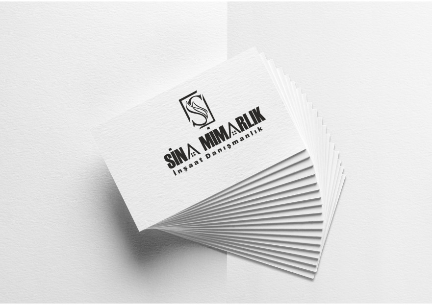 Sina Mimarlık Logosunu arıyor yarışmasına tasarımcı elifgrafikdesign tarafından sunulan  tasarım