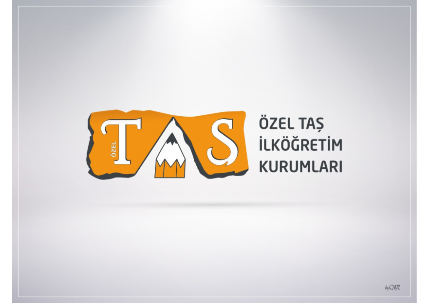 Okul Logomuzun Tasarımı yarışmasına tasarımcı byCNR tarafından sunulan  tasarım