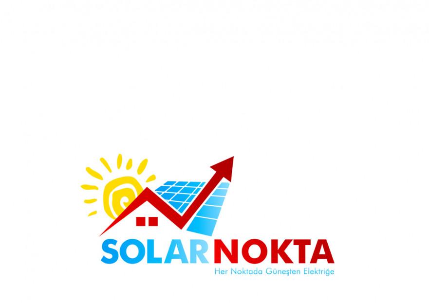 solarnokta şirketi Logo Tasarım  yarışmasına tasarımcı celender tarafından sunulan  tasarım