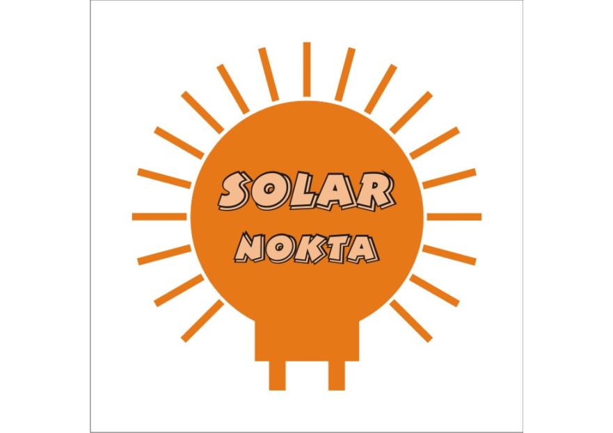 solarnokta şirketi Logo Tasarım  yarışmasına tasarımcı mawisakal tarafından sunulan  tasarım