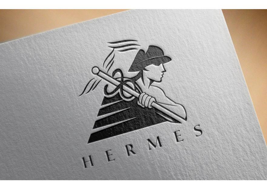 Hermes logo ve kurumsal kimlik yarışması yarışmasına tasarımcı yasincelik tarafından sunulan  tasarım