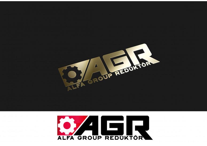 Alfa Group Redüktör Kurumsal Logo yarışmasına ankagraphic tarafından girilen tasarım