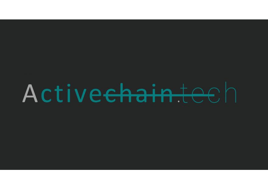 ActiveChain.tech Logo Yarismasi yarışmasına tasarımcı saffdesign tarafından sunulan  tasarım