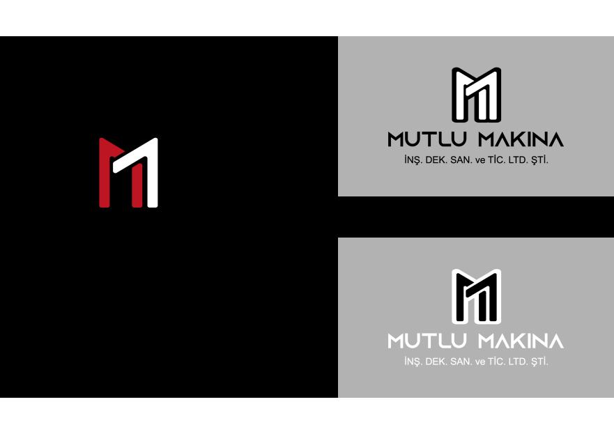 MUTLU MAKİNA'ya yeni bir logo arıyoruz. yarışmasına tasarımcı Vcetik tarafından sunulan  tasarım